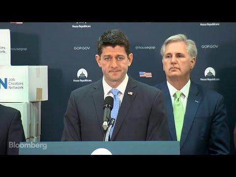 House Speaker Ryan Says Roy Moore Should Step Aside