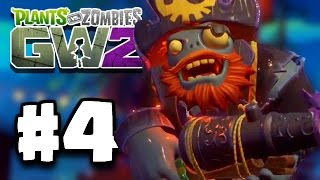 Plants Vs Zombies: Garden Warfare 2 Part 4 - SCARY PIRATE BOSS CAPTAIN SMASHER DEATH! (PvZ GW 2)