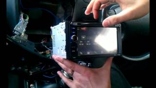 Установка китайской автомагнитолы с навигацией
