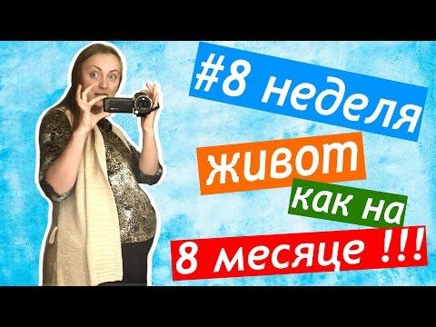 8 недель ЖИВОТ КАК НА 8 МЕСЯЦЕ беременная актриса СЪЕМКИ в кино