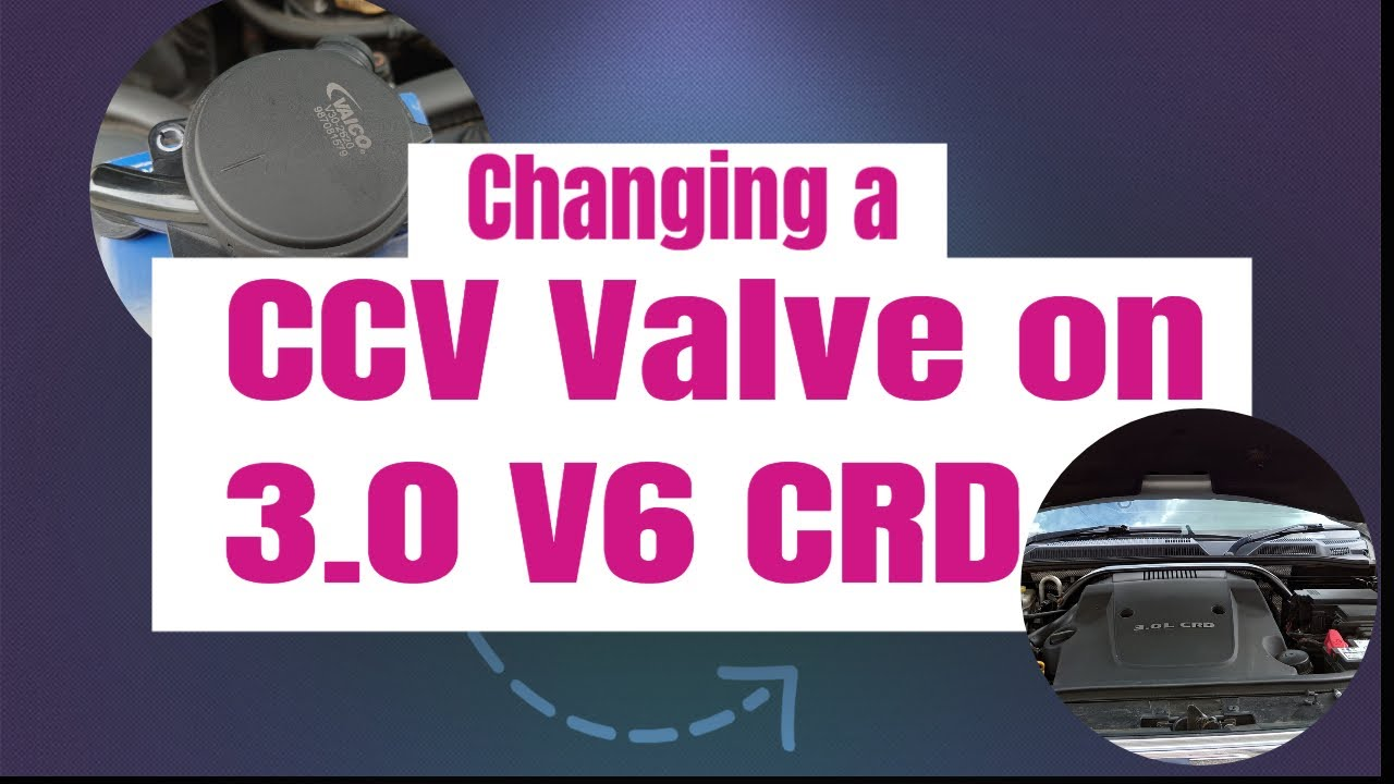 Changing a CCV Valve on Jeep Commander 3.0 V6 CRD OM642