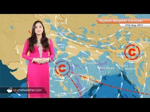 Weather Forecast for Aug 27: Rains in Mumbai, Gujarat, Uttar Pradesh, West Bengal