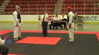 Rohit Uechi Ryu Karate Kenyukai kumite (fighting)