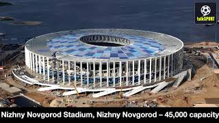All World Cup 2018 Russia Stadiums - Stunning Images