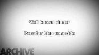 Archive - Well Known Sinner (Sub. Español/Lyrics)