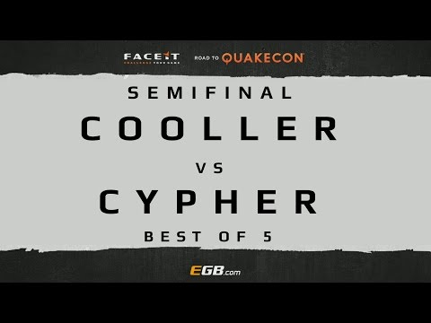 Cooller vs Cypher - SEMIFINAL (Road to Quakecon 2015)