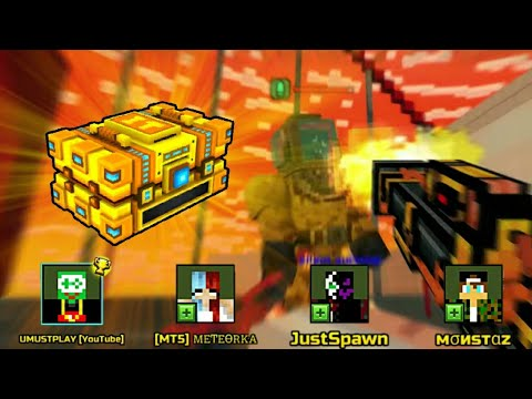 HARD *RAID* COMPLETED Pixel Gun 3D