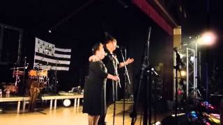 Rond de Loudéac ton double ( par les Mangeouses d'oreilles ) fest noz Caudan 31 / 12 / 2014