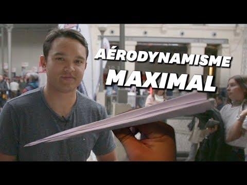 Apprenez à faire des avions en papier de compétition en 2 minutes