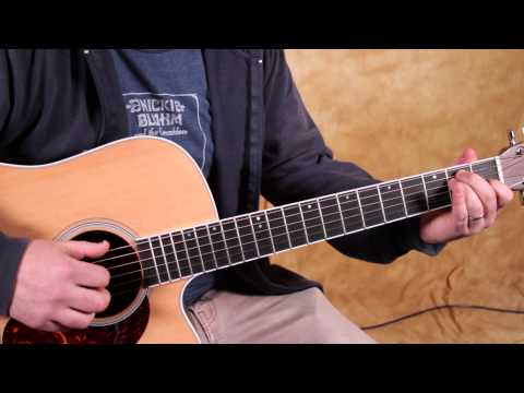 How To Play Acoustic Guitar Lesson Basic Finger Picking Howdy Guitar - Fast car plucking