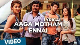 Aaga Motham Ennai Song with Lyrics | Bangalore Naatkal | Arya | Bobby Simha | Gopi Sunder