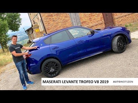 Maserati Levante Trofeo V8 580 PS (2019) - Review, Fahrbericht