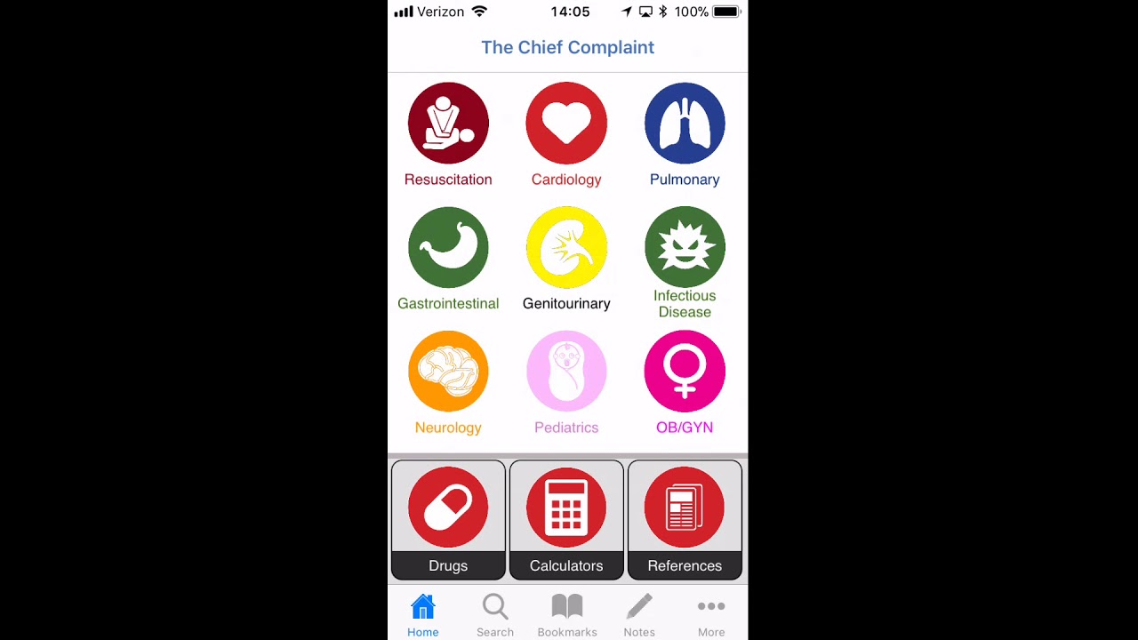 The Chief Complaint: An Evidence-Based Emergency Medicine App