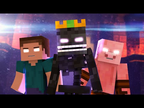 'The Nether King' - A Minecraft Parody Song of Uptown Funk (Music Video)
