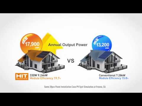 Panasonic HIT®   Solar Solutions for Homeowners