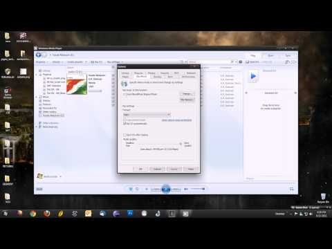 How to rip music off CD's without any programs on windows.