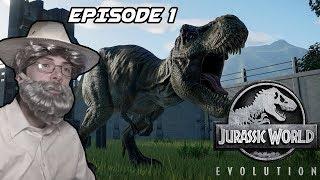 Let's play - Jurassic World evolution - EP1