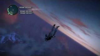 Just Cause 2 - Highest Base Jump Record