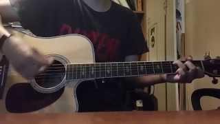 Saint Asonia - Waste My Time Acoustic Guitar Cover (TABS + LYRICS)