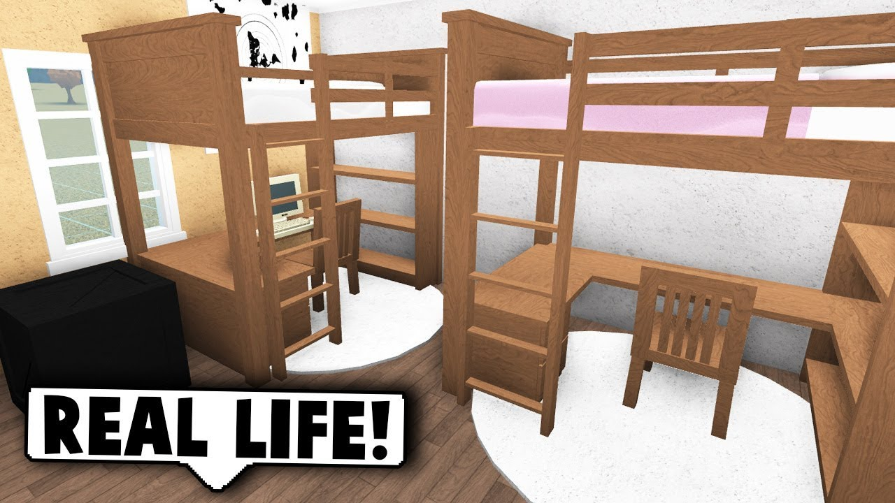 Roblox Room: MAKING MY DORM ROOM ON BLOXBURG! (Roblox Bloxburg)