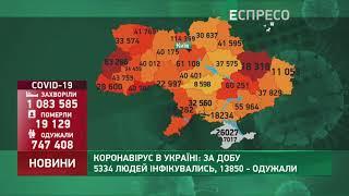 Коронавірус в Украі ні статистика за 5 січня