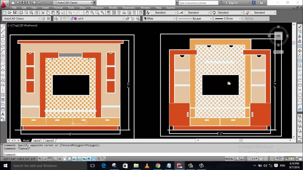 lcd panel with measurent furniture kitchen drawing autocad lcd panel with measurent furniture kitchen drawing autocad learning tutorial
