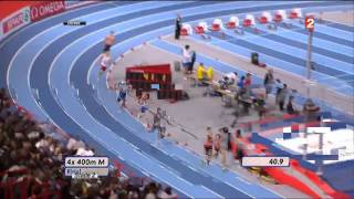 4X400m BERCY 2011 OR