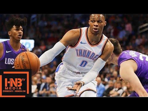 Oklahoma City Thunder vs Phoenix Suns Full Game Highlights / March 8 / 2017-18 NBA Season