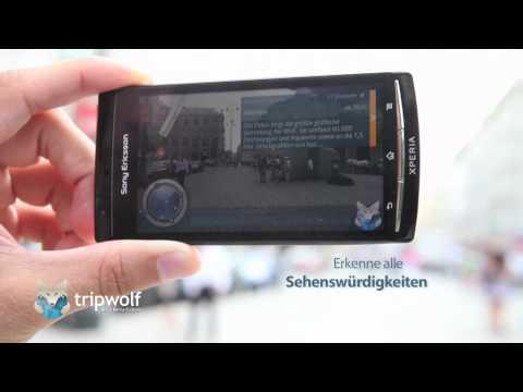 tripwolf Android Reiseführer App - mit Stadtplänen und Augmented Reality