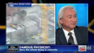Physicist Michio Kaku Demands Entombment Of Fukushima Nuclear Power Plant