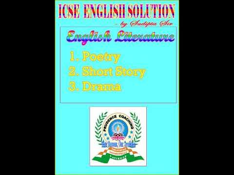 ICSE ENGLISH LITERATURE SYLLABUS FOR CLASS IX-X – Forums