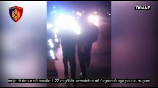Drejton mjetin në gjendie të dehur në masën 1.22 mg/l, arrestohet në flagrancë - Policia e Tiranës