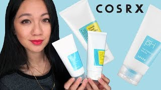 COSRX Low pH First Cleansing Milk Gel VS. COSRX Low pH Good Morning Gel Cleanser