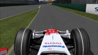 F1 2008(PC game) crazy driver demo