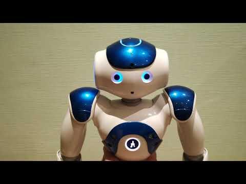Робот НАО.   Демонстрация русского программного обеспечения