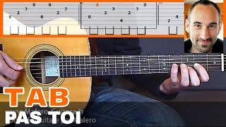 "Video-Tab ""Pas Toi"" - Cours Malero-Guitare.fr"