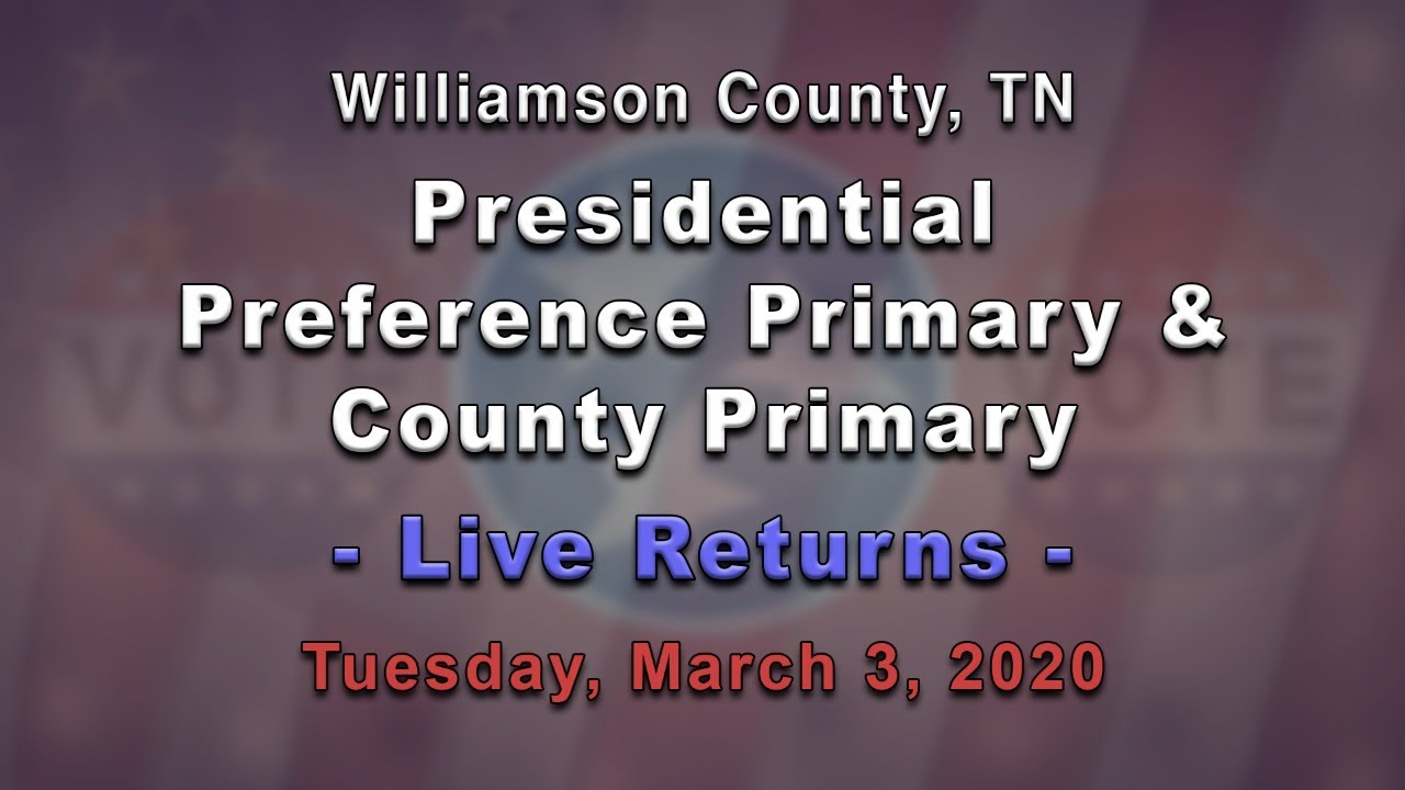 Where to vote in Williamson County for the March 3 primary