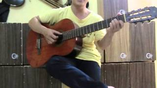 #9 dieu fox, pasodoble và biến tấu kết hợp bolero - Bai giang Guitar Van Anh