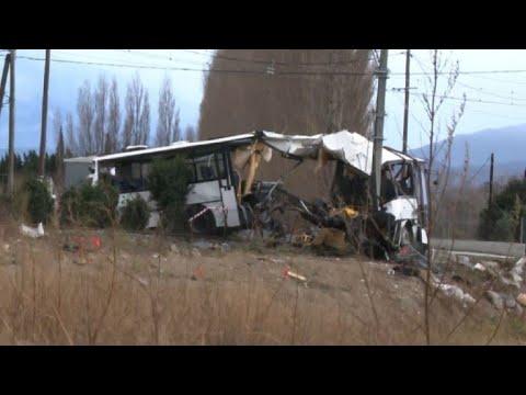 Collision à Millas: 6 enfants morts (nouveau bilan)