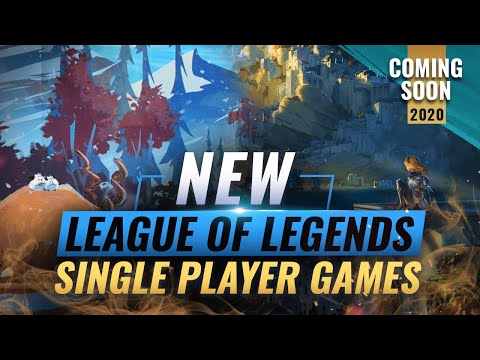Best Single Player Games 2020.Huge Update New League Of Legends Single Player Games