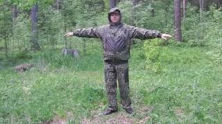 Обзор  летний костюм для охоты и рыбалки  Сокол   www 1ttd ru
