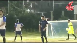 RevanthReddy superb Football Game || its Football time