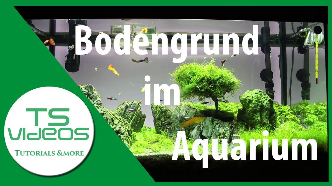 Bodengrund im aquarium tsvideos youtube for Aquarium innenfilter
