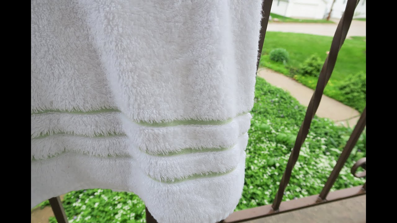 Cariloha Bamboo Bath Sheet Towels Youtube