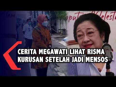 Cerita Megawati Lihat Risma Kurusan Sejak Jabat Mensos
