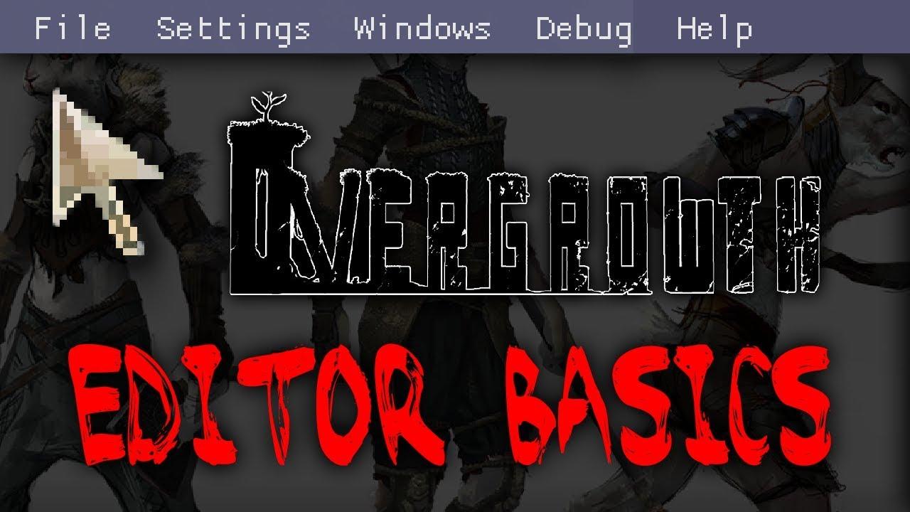 Editor Interface - Wolfire Games Wiki