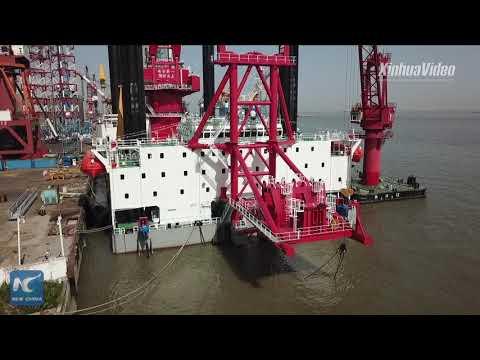 World's largest offshore self-elevating wind turbine installation platform delivered