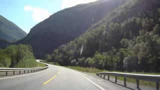 E16 Norway: Lærdal Valley