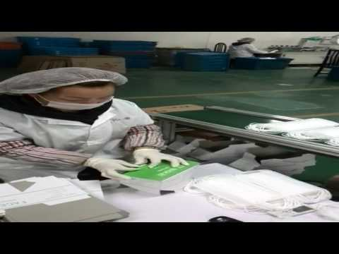 face mask production process~Wuhan Orient Honest
