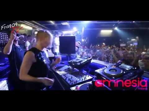 FRA909 Tv - ELLEN ALLIEN CLOSING SET @ AMNESIA MILANO